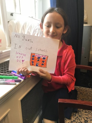 My daughter Maggie and her message to Congress